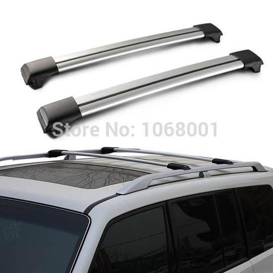Quality! General SUPER SILENT Universal Car Roof Rack Cross Bars Length Adjustable Car-top Racks MAX 75kg /Car Luggage Supports(China (Mainland))