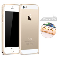 For Iphone 5 Luxury Slim Aluminium Alloy Bumper Frame Case for iPhone5 5S Metal Frame Phone Cover