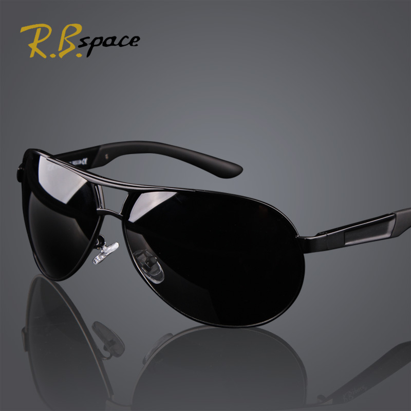 Hot 2015 Fashion Men's UV400 Polarized coating Sunglasses men Driving Aviator Mirrors Eyewear Sun Glasses for Men with Case Box(China (Mainland))
