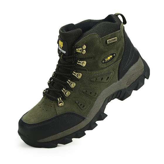 Real Original Brand Winter Athletic Rubber High-Top Lace-Up Outdoor Sport Snow Ski Trekking Hunting Hiking Shoes Boots Men Women(China (Mainland))