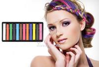 12 Colors Hair Chalk Colorful Hair Chalk Dye Pastels Temporary Pastel Hair Extension Dye Chalk Cheap Hot Crayons #12 SV001831