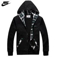 2014 Hot Sale NIKE Mens Hoodies Sweatshirts Male hoodies mens Hooded Sweater Jacket Coat Cotton Free Shipping