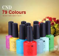 79 Colors Available 12Pcs/lot CND Shellac Soak Off UV LED Nail Gel Polish The Best Gel Polish