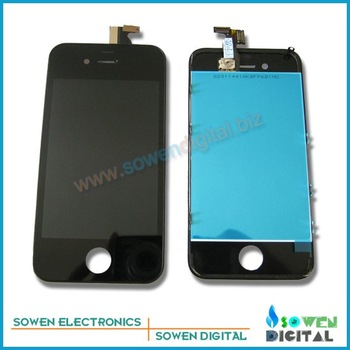 Free shipping for iPhone 4G CDMA LCD display with touch screen digitizer assembly,Black or White,100% quality assurance