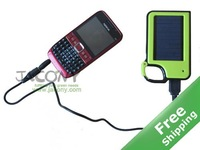 Solar charger Mobile phone charger for charging various cell phone,iphone,ipod etc + 8 color for option