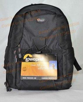Freeshipping  Lowepro Mini Trekker AW Digital DSLR SLR Camera Photo Bag Travel  Backpacks with rain cover for canon nikon sony
