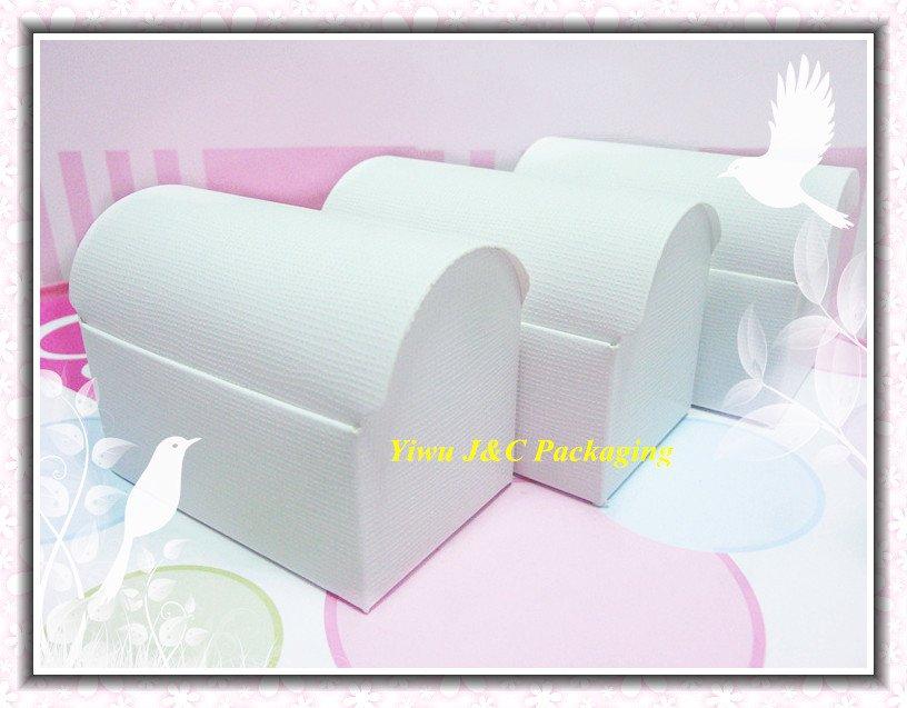 FREE SHIPPING-- HOT White Wedding Treasure Chest Favor Boxes,Candy Box, Gift Box (JCO-411a)(China (Mainland))