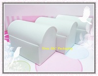 FREE SHIPPING-- HOT  White Wedding Treasure Chest Favor Boxes,Candy Box, Gift Box (JCO-411a)