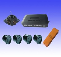 Best price! Parking sensor 4 sensors Buzzer without Display Obstacle indication  alarm 2.5m Free shipping!