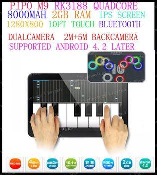 "discount shipping  10.1"" Pipo M9 3g quad core 2GB/16GB RK3188  1.8GHz dual camera IPS HDMI Bluetooth External 3G OTG tablet pc"