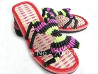 Free shipping MOQ one pair ladies summer slippers sandals