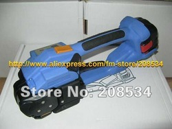Discount ! High quality Battery Powered PET/platic strapping tool used for 12-16MM PET/PP Banding strap(China (Mainland))