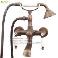 Xiduoli European Style Vintage Antique Copper Hand-held Shower Faucet XDL-1250 Manufacture directly sale drop shipping