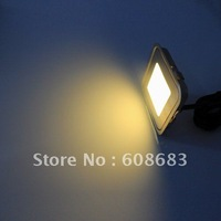"""""""Free Shipping"""" 0.6W IP67 Waterproof Square LED Floor Light: 15pcs lights, 3pcs T connecting cable and 1pc 30W driver (SC-B102B)"""