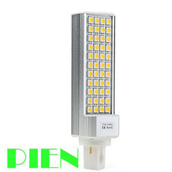 G24 LED PL Bulb 5050 9W SMD 44 LED Corn Light Bedroom Home Lamp Warm|Cool White 85V-265V E27 Free Shipping 5pcs/lot(China (Mainland))