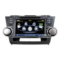 Car Stereo GPS Navigation for Toyota Highlander Kluger Multimedia Headunit Sat Nav Autoradio Radio RDS DVD Player Bluetooth A2DP