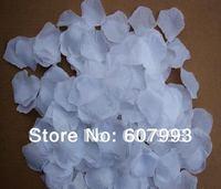 White rose petals for wedding party, multiple color artificial silk petals,floral arrangement decoration silk flower 2000pcs/lot