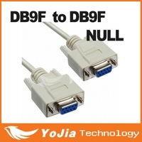 New Serial Null Modem Cable DB9F to DB9F RS232 to RS-232 Null cable free shipping post