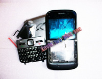 Hot sale!  New full housing cover case ( with logo) for Nokia E5 with keypad,  free shipping!
