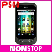 P500 Original LG Optimus One P500 GPS WIFI 3G  Unlocked Mobile Phone Free shipping