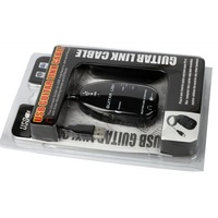 free shipping New Guitar to USB Interface Link Cable PC/MAC Recording Record with CD Driver