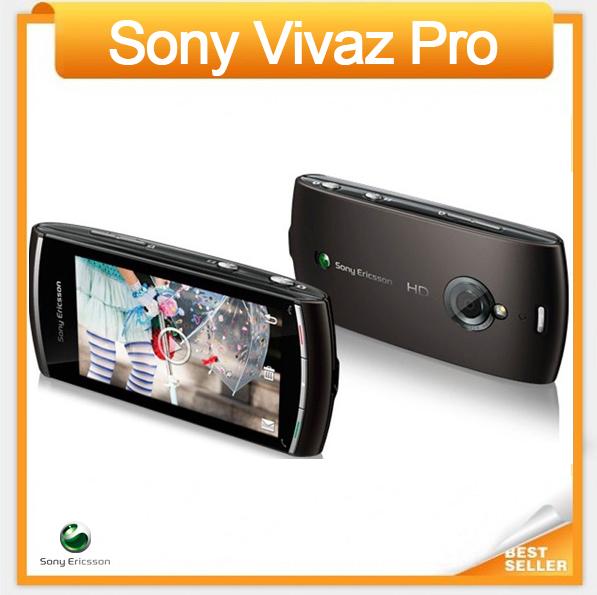 Sony Ericsson Vivaz pro U8 U8i Cell phone Singapore post Free Shipping(China (Mainland))