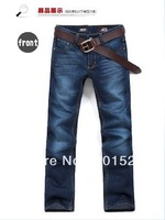 Kingtime Freeshipping 2014 New Men's Jeans With High Quality Chinese Size :28-36 KTA05