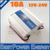 Hot Selling, DC12V to DC24V 10A Power Converter, DC-DC Step-up Converter, Boost 12V-24V 250W Power Supply