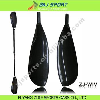 Full Carbon Fiber Racing Kayak Paddel With Adjustable Oval Shaft