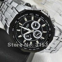 M915B Luxury Business Watch Men Fashion CURREN Brand Black Sport Stainless Steel Watch Dxial Men Quartz Watch Gif