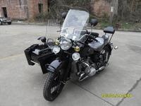 Changjiang750cc Motorcycle Sidecars Black