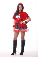 New arrive!!,sexy Little Red Riding Hood costumes ,women halloween costumes GLB5222
