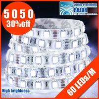 2012 Best product 5050 LED SMD strips,60led/m, IP65 waterproof,DHL/EMS free shipping ! the best price in aliexpress.com,SALE!