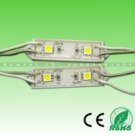 100pcs Free Shipping! High bright 2leds SMD5050(20lm per led chip) DC12V IP68 warm white/cold white led module light