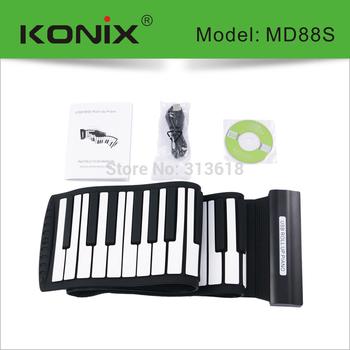 Flexible 88 Keys instrumentos musicais Keyboard Piano
