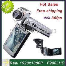 F900 1920 * 1080P Car Camera 30fps Video Registrator Car DVR Full HD Video Recorder Car F900LHD Novatek Chipset DVR Recorder(China (Mainland))