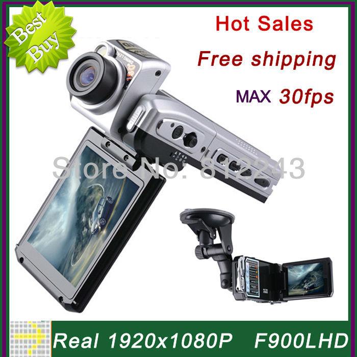 F900 1920 * 1080P Car Camera 30fps Video Registrator Car DVR Full HD Video Recorder Car Black Box F900LHD Novatek DVR Recorder(China (Mainland))