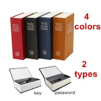 Dictionary Book Safe Box Security Coffer Dictionary Money Box Creative Safe Book Coin Bank Strongbox