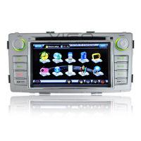Car Stereo GPS Navigation for Toyota Hilux 2012 Auto Multimedia Headunit Sat Nav Autoradio Radio RDS DVD Player Bluetooth A2DP