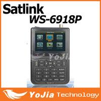 Original Satlink WS-6918p DVB-S2 Satellite Finder Meter Satlink 6918p ws6918 finder free shipping