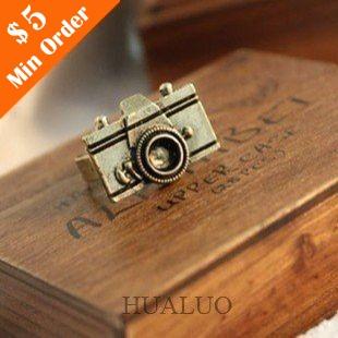 Hot Fashion Retro Personality Cute Camera Ring,(Ancient Bronze) Fashion Jewelry R38(China (Mainland))