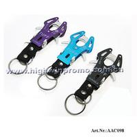 Hot Sale 1000pcs/lot Cheap Wholesale Durable Plier Style Carabiner Clip /Climbing  Hook  Keyring,Various Color,Free Shipping !