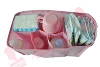 Free shipping  designer multi-function Nappy Storage 2 colors M /L Outdoor baby diaper organizer Liner for baby products HY-002