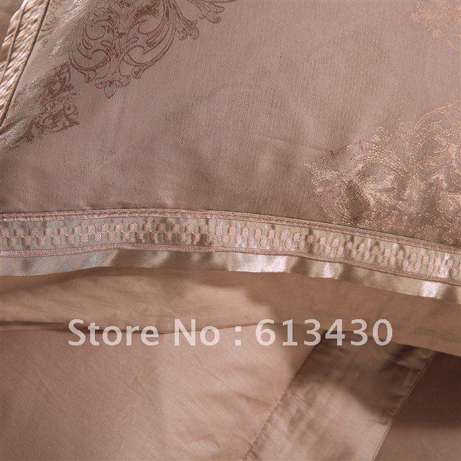 Bedding sets Silk/Jacquard /Sateen King/Queen Size Flat Sheet Duvet