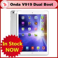 "Hot ! FREE CASE 9.7"" Tablet Onda V919 3G Air Dual Boot Retina 2048x1536 Intel Z3736F Quad Core 2GB/64GB 3G WCDMA GPS Tablet pc"