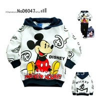 Retail Free shipping Spring & Autumn Hot Sale mickey mouse kids clothing,kids jacket,kids hoodies