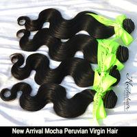 "7A Unprocessed virgin hair  Peruvian Hair Body Wave Mix lot  3  pcs   10""12""14""16""18""20""22""24""26""28""30"" Natural color"