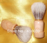 Free Shipping 12 pcs/lot bardger color boar bristle  Shaving Brush beard brush mustache brush with wooden handle knot