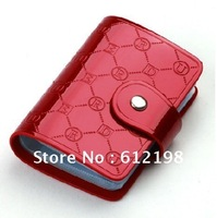 lovely lady's card wallet, Fashion GENUINE LEAHTER business name card holder DR-009 20 PCS DHL FREE SHIPPING