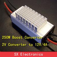 250W/20A Boost Converter 3.7V12V24V Step up Regulator  Water Proof Lithium Battery
